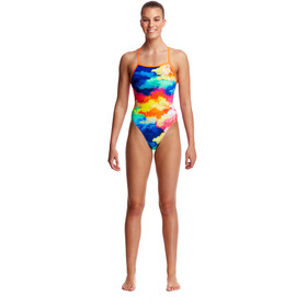 Funkita Tie Me Tight One Piece - Bañador Mujer - Multicolor